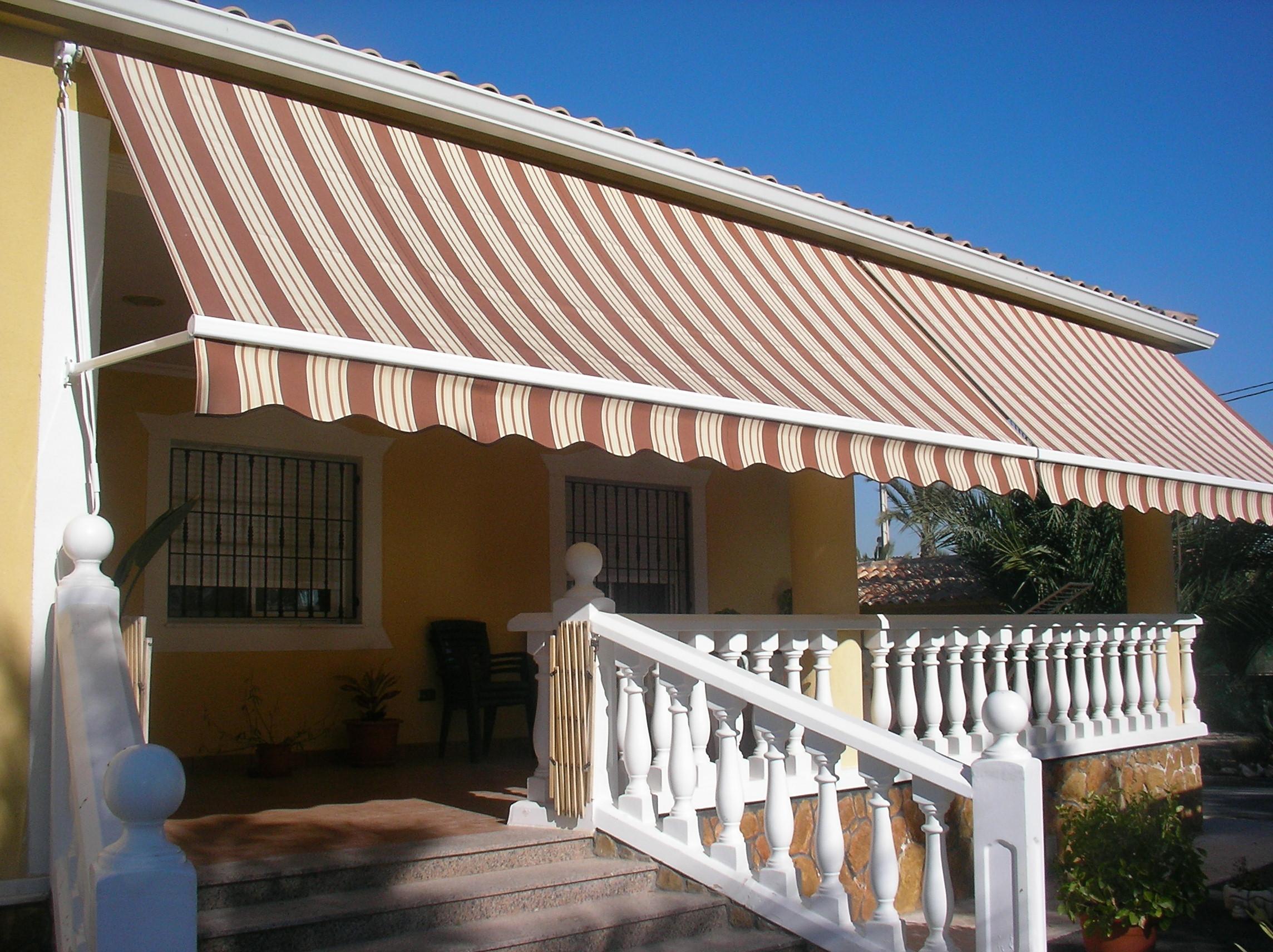 Bienvenidos a very nice solar for Brazos para toldos